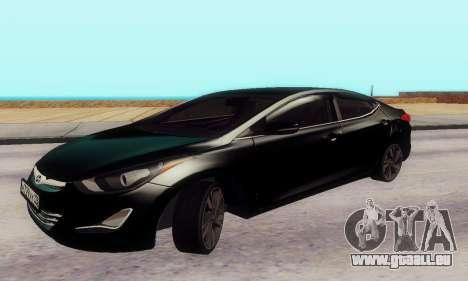 Hyundai Elantra 2015 für GTA San Andreas linke Ansicht