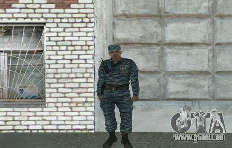 Les policiers anti-émeute (été) pour GTA San Andreas