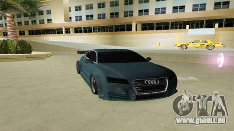 AUDI A7 SPORTS pour GTA Vice City
