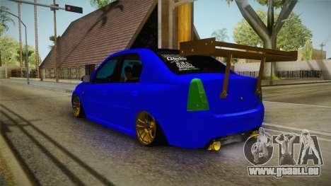 Dacia Logan Stance Haur Edition für GTA San Andreas linke Ansicht
