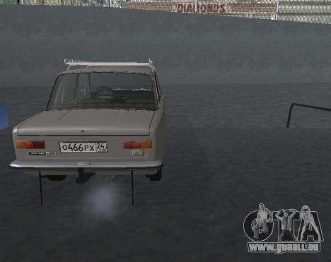 VAZ 21013 Krasnoyarsk stil pour GTA San Andreas laissé vue