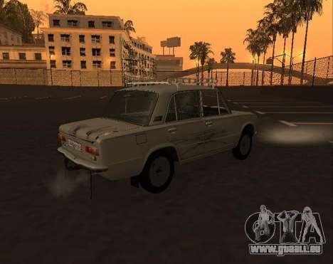 VAZ 21013 Krasnoyarsk stil pour GTA San Andreas vue intérieure