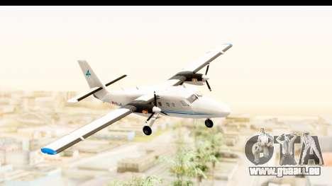 DHC-6-400 Zimex Aviation pour GTA San Andreas sur la vue arrière gauche