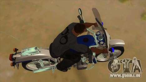 Oural De La Police pour GTA San Andreas vue intérieure
