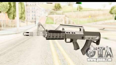 GTA 5 Hawk & Little Bullpup Rifle pour GTA San Andreas