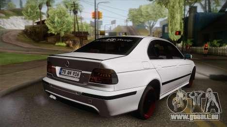 BMW M5 E39 Turbo King für GTA San Andreas linke Ansicht