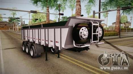 Trailer Brasil v2 für GTA San Andreas rechten Ansicht
