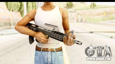 GTA 5 Hawk & Little Bullpup Rifle pour GTA San Andreas troisième écran