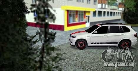 BMW MX5 pour GTA San Andreas laissé vue