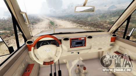 GTA 5 Toyota Land Cruiser (J79) 2016 rechte Seitenansicht