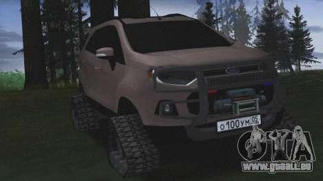 Ford Ecosport Off-Road für GTA San Andreas zurück linke Ansicht