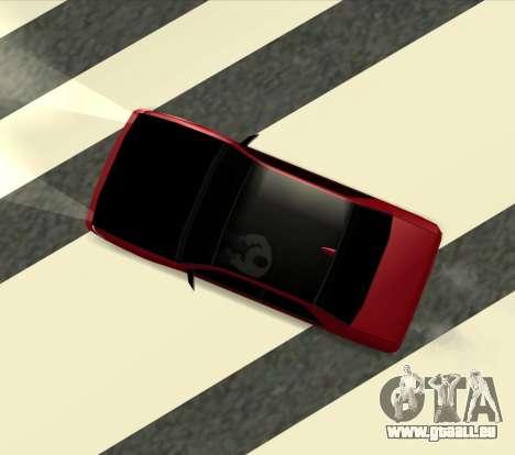Sultan Kaefoon für GTA San Andreas linke Ansicht