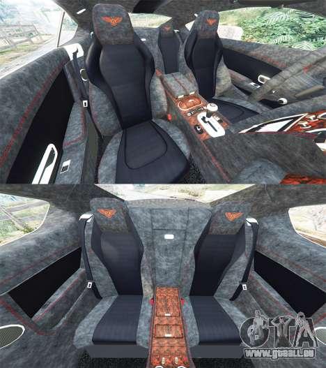 GTA 5 Bentley Continental GT 2012 [replace] vorne rechts Seitenansicht