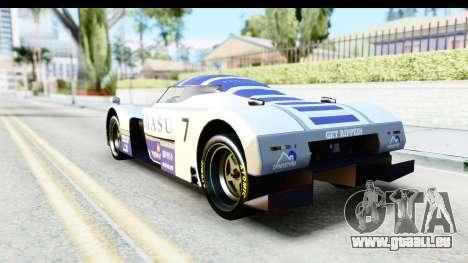 GTA 5 Annis RE-7B für GTA San Andreas obere Ansicht