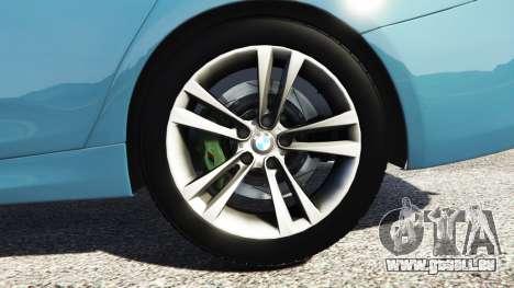 GTA 5 BMW 335i GT (F34) [add-on] arrière droit vue de côté