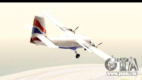 DHC-6-400 de Havilland Canada pour GTA San Andreas laissé vue