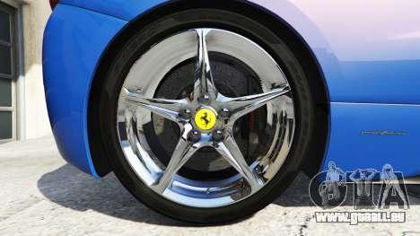 GTA 5 Ferrari 458 Italia v2.0 [replace] hinten rechts