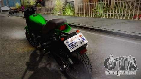 GTA 5 Pegassi Esskey IVF pour GTA San Andreas sur la vue arrière gauche