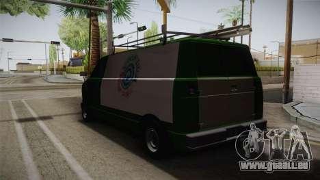 GTA 4 Burrito pour GTA San Andreas sur la vue arrière gauche