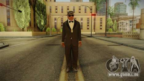 GTA 5 Franklin Tuxedo v4 für GTA San Andreas zweiten Screenshot