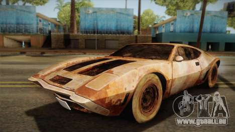 AMC AMX 3 39 1970 Rust für GTA San Andreas
