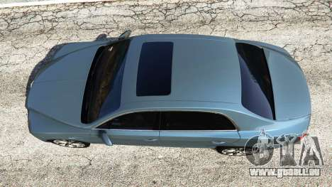 GTA 5 Bentley Flying Spur [add-on] vue arrière