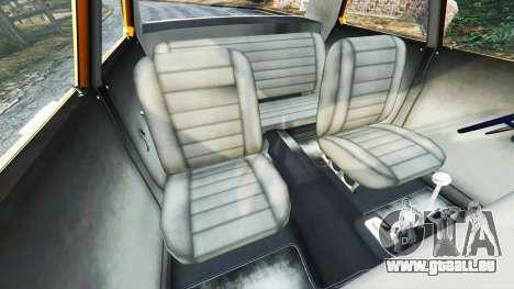 GTA 5 Plymouth Belvedere 1965 Taxi [replace] vorne rechts Seitenansicht