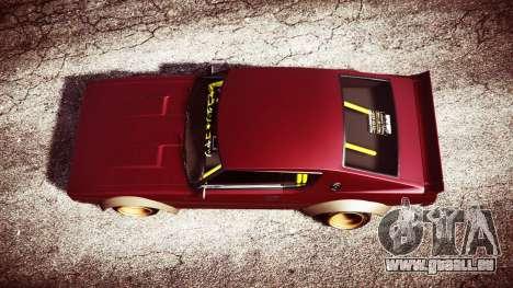 GTA 5 Nissan Skyline GT-R C110 Liberty Walk [replace] Rückansicht