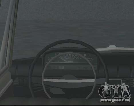 VAZ 21013 Krasnoyarsk stil pour GTA San Andreas sur la vue arrière gauche