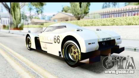 GTA 5 Annis RE-7B für GTA San Andreas Innenansicht