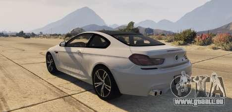 GTA 5 BMW M6 F13 Coupe 2013 vue latérale gauche
