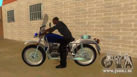 Oural De La Police pour GTA San Andreas laissé vue