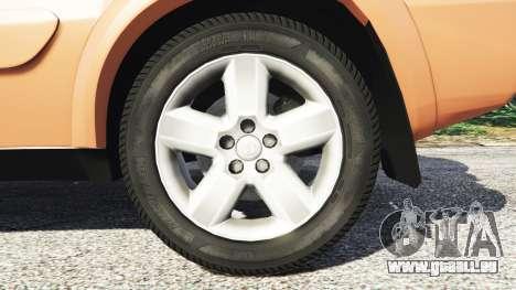 GTA 5 Toyota RAV4 (XA20) [add-on] arrière droit vue de côté