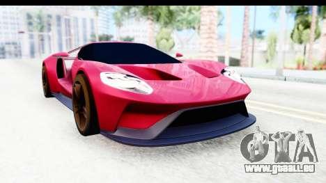 Ford GT 2016 für GTA San Andreas