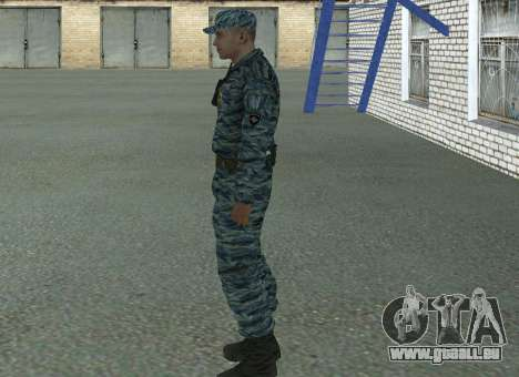 Les policiers anti-émeute (été) pour GTA San Andreas deuxième écran