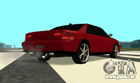 Sultan Kaefoon für GTA San Andreas rechten Ansicht