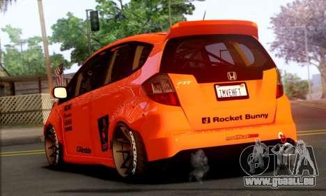 Honda Fit 2009 Rocket Bunny pour GTA San Andreas laissé vue