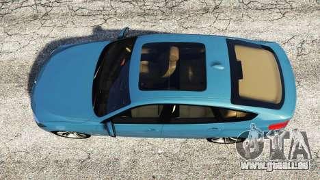 GTA 5 BMW 335i GT (F34) [add-on] vue arrière