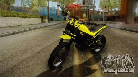 GTA 5 Epic Maibatsu Manchez pour GTA San Andreas