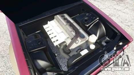 GTA 5 Nissan Skyline GT-R C110 Liberty Walk [replace] droite vue latérale
