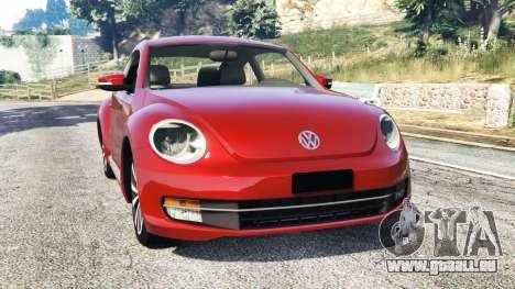 Volkswagen Beetle Turbo 2012 [replace] für GTA 5