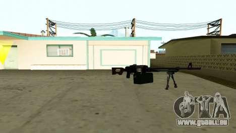 PKM Noir pour GTA San Andreas quatrième écran