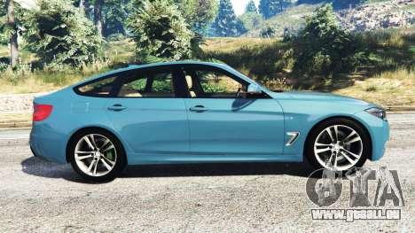 GTA 5 BMW 335i GT (F34) [add-on] vue latérale gauche