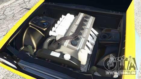 GTA 5 Nissan Skyline GT-R C110 Liberty Walk [add-on] rechte Seitenansicht