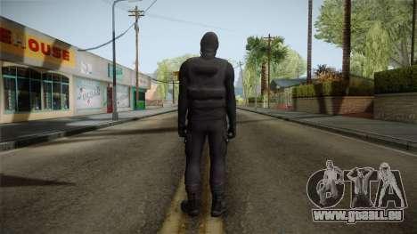 GTA 5 Heists DLC Male Skin 1 pour GTA San Andreas troisième écran
