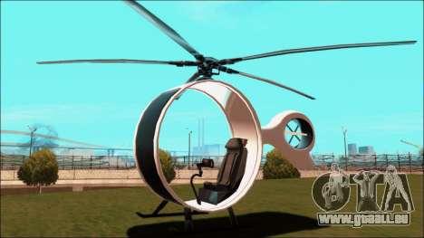 Futuristic Helicopter pour GTA San Andreas