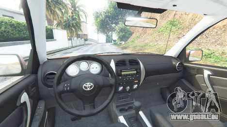 Toyota RAV4 (XA20) [add-on] pour GTA 5