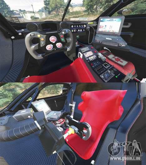 GTA 5 Renault Sport RS 01 2014 Police Interceptor [r] arrière droit vue de côté