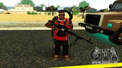 PKM Noir pour GTA San Andreas