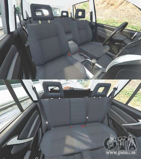 GTA 5 Toyota RAV4 (XA20) [add-on] volant